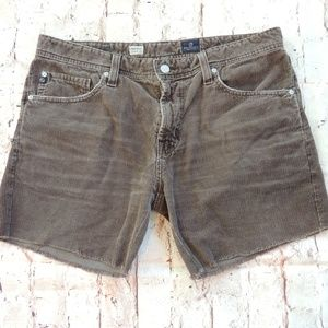 AG Protege Corduroy Cut-Off Shorts Size 32